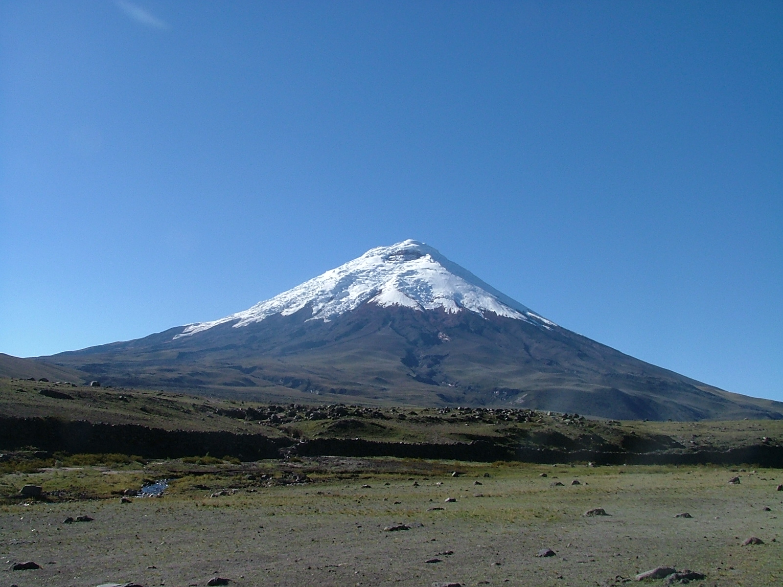 Andes Cotopaxi from Tambopaxi 04