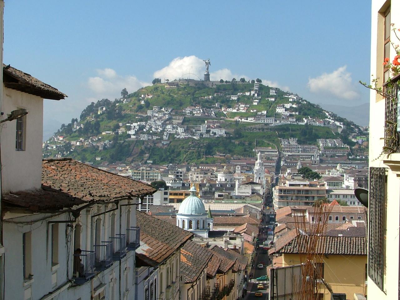 City tour of Quito